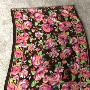 Vera Bradley oversized large scarf or wrap